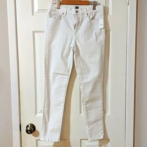GAP FOR GOOD White skinny jeans
